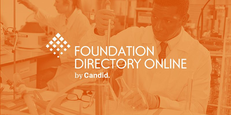 Foundation Directory Online by Candid