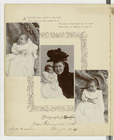 Marcelline Hemingway Baby Book