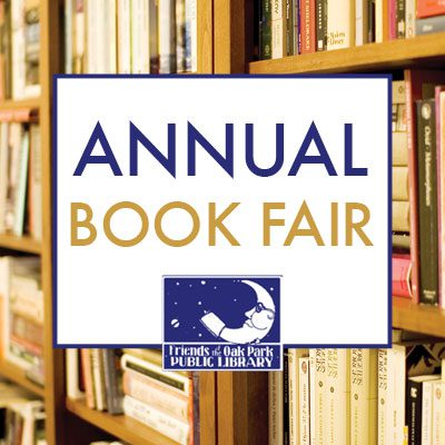 Friends of the Library Annual Book Fair graphic