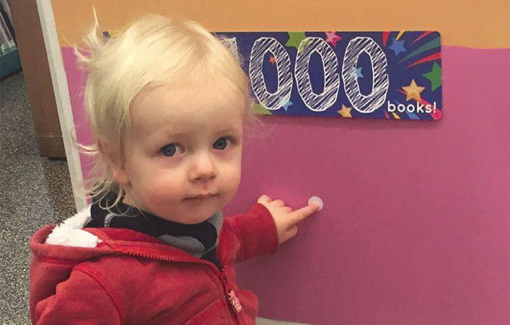 Elliott, 1,000 Books Finisher