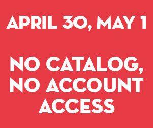 No catalog, account access