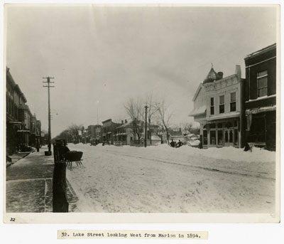 Lake Street Under Snow, 1894
