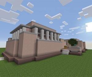 Unity Temple Minecraft