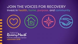 National Recovery Month 2018