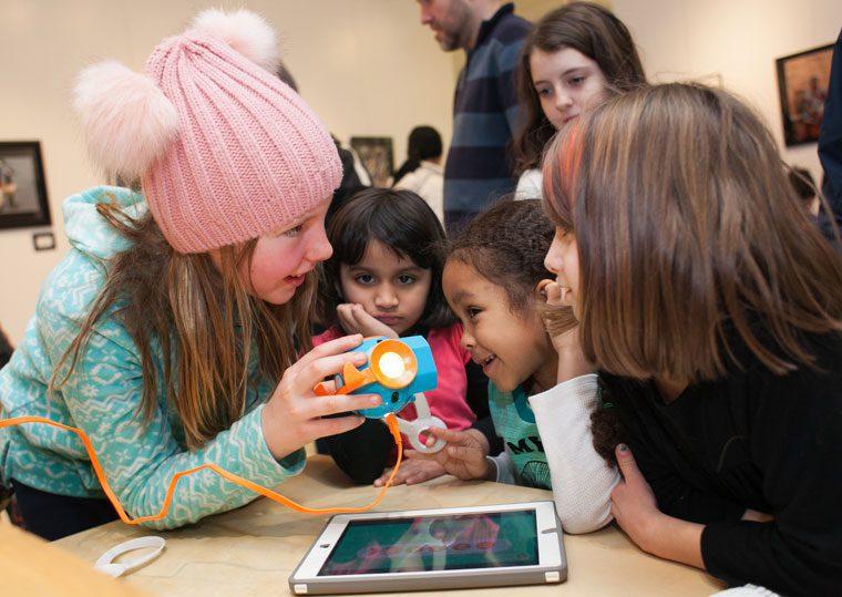 Kids at 2018 Code Fest