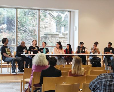 Youth panel Restorative Justice Conference