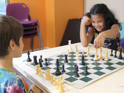 Savi at Chess Club Champs