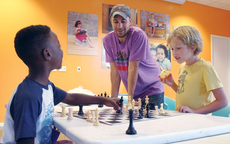 Chess Club Champs With Luis Tubens