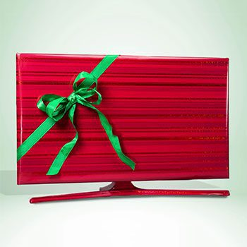 Gift-Wrapped TV