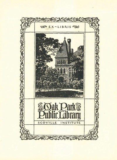 Scoville Institute Bookplate