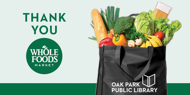 Thanks For Your Support Whole Foods Pers Oak Park