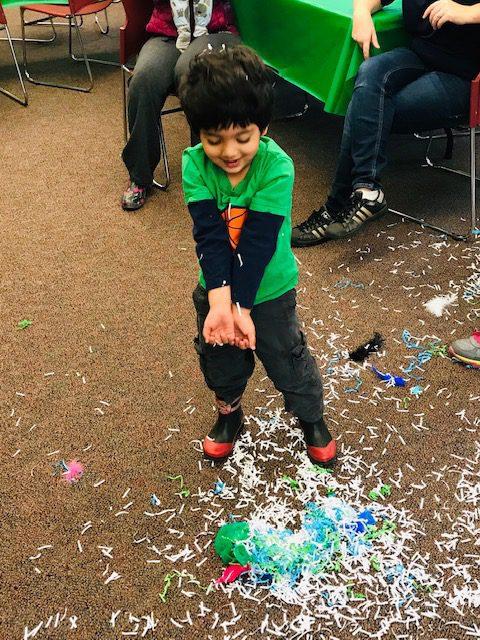 Children celebrating Holi