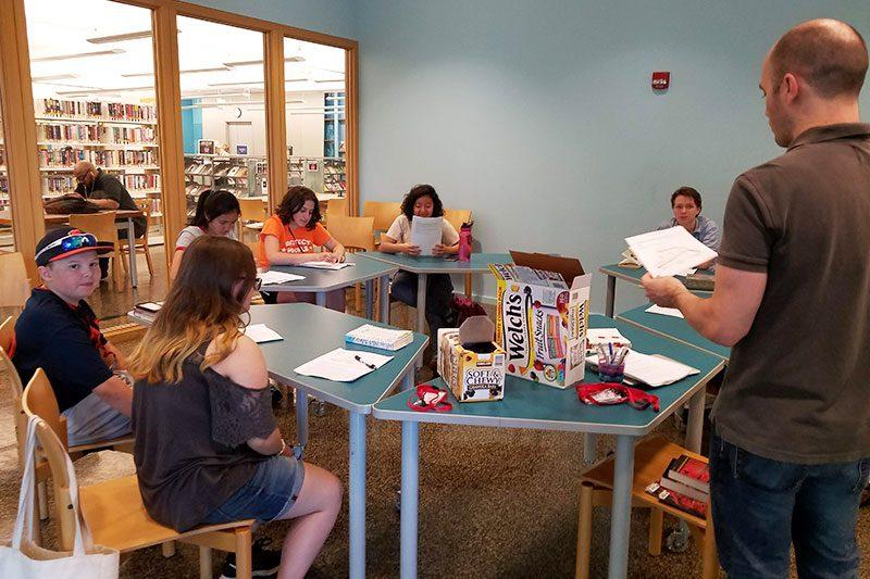 Teen Summer Volunteer Program