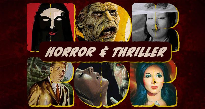 Horror and thriller films on Kanopy