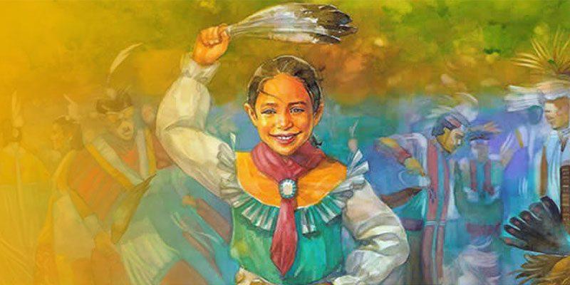 Jingle Dancer book cover art