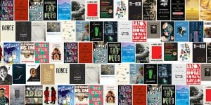 Collage of book covers of National Book Awards 2019 winners and finalists