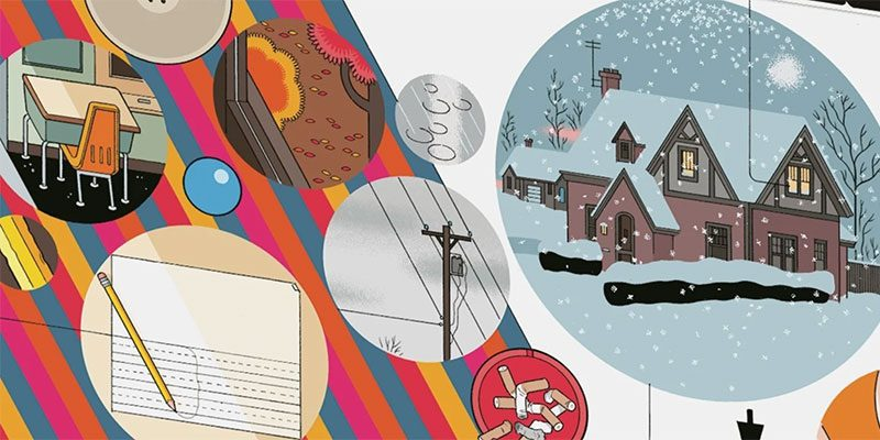 Book cover of Chris Ware's Rusty Brown
