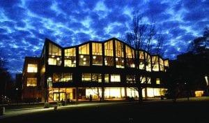 Main Library at night