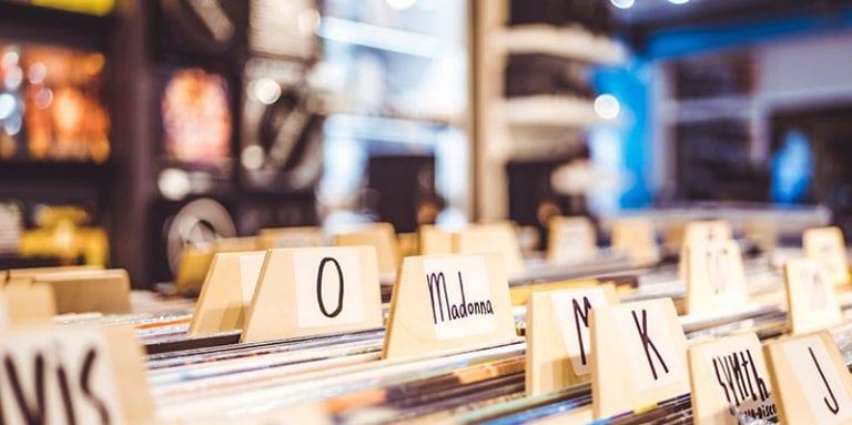 Records in a record store