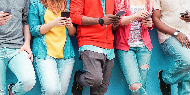 Teens on Smart Phones