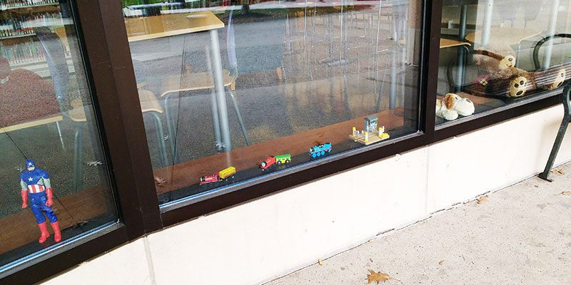 Toys in the Main Library window