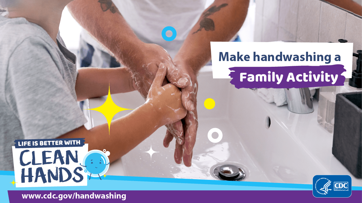 CDC Clean Hands Campaign