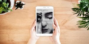 My Dark Vanessa ebook on tablet