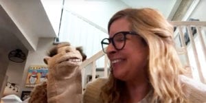 Miss Jenny and Ruthie the Camel