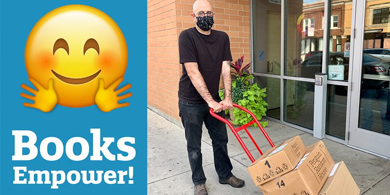 Books Empower: Book delivery