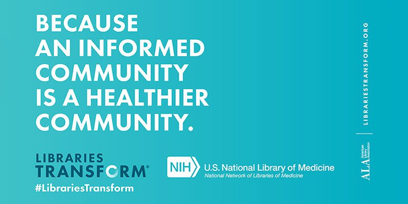 Because an informed community is a healthier community