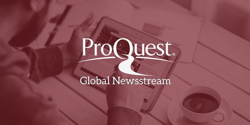 ProQuest Global Newsstream
