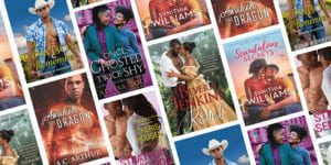 Romance book covers