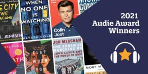 Audie Award Winners Book Covers