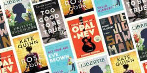 New fiction book covers