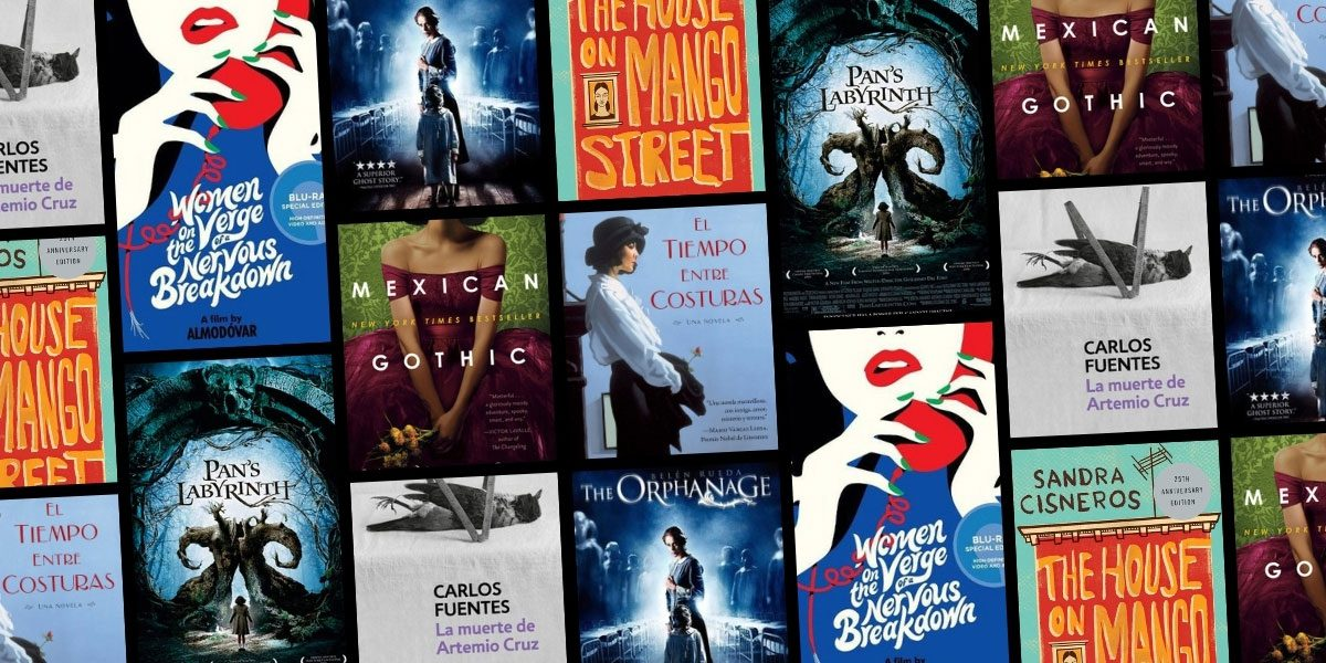 Book covers and movie posters