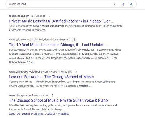 Google Ad Example 2