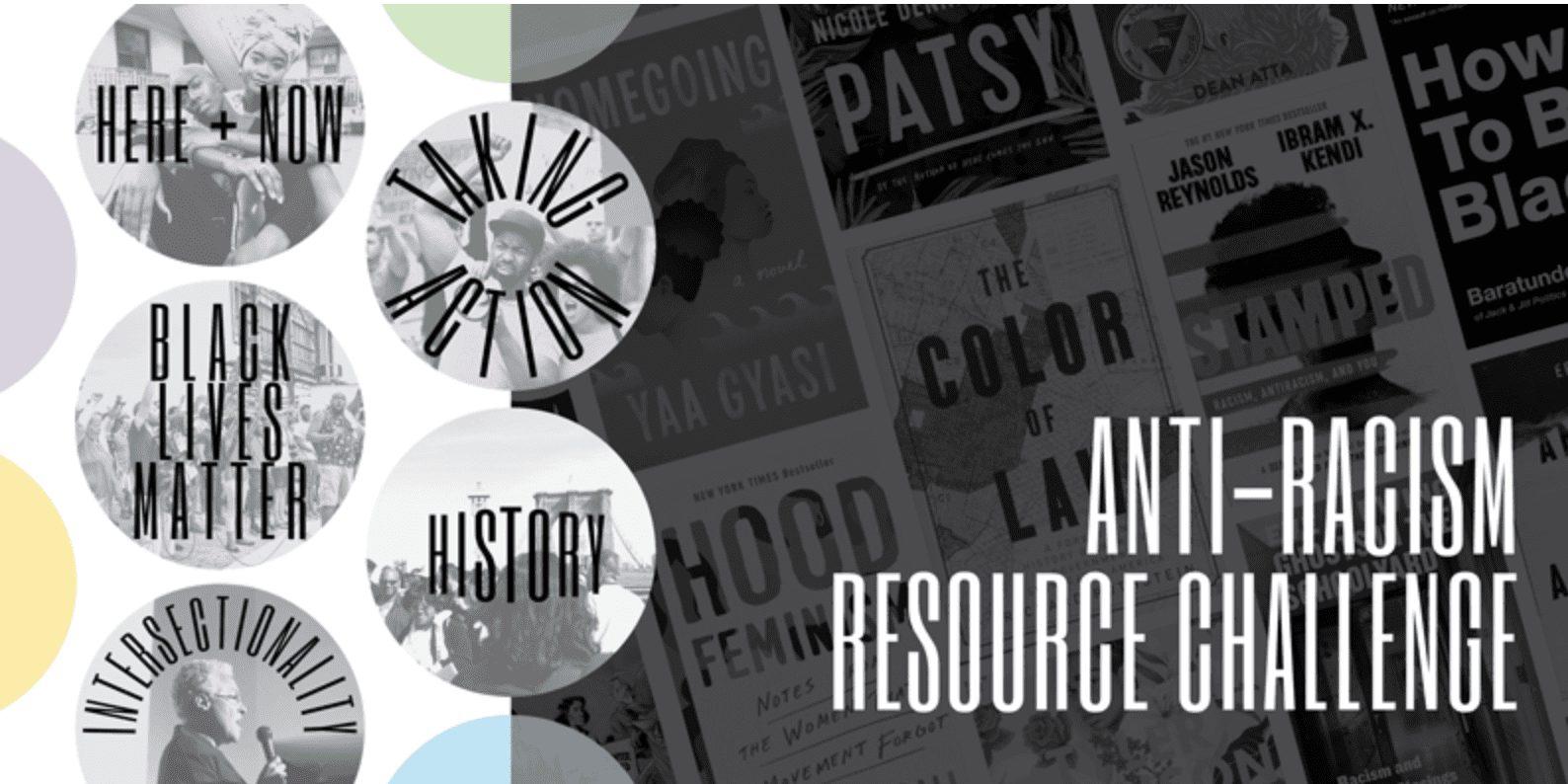 Anti-racism resource challenge