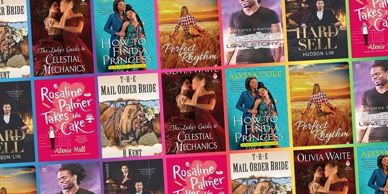 LGTBQ+ romance novel covers