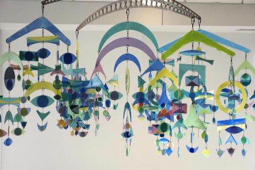 Mobile by Higgins Glass, glass (337 pieces)